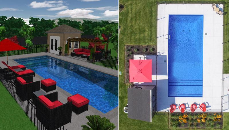 Vente et installation de piscine creus e piscine hudon for Installation piscine creusee
