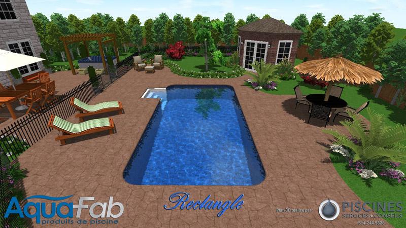 Mod les de piscines creus es laval montr al piscine hudon for Piscine personnalisee