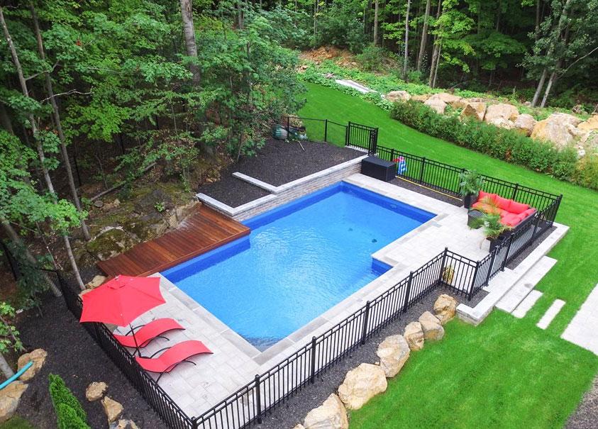 Piscine Creusée Et Installation Laval Montréal Piscine Hudon - Modele de piscine en beton