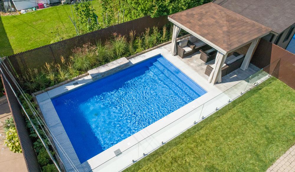 Aménagement de piscine creusée Laval, Montréal   Piscine Hudon
